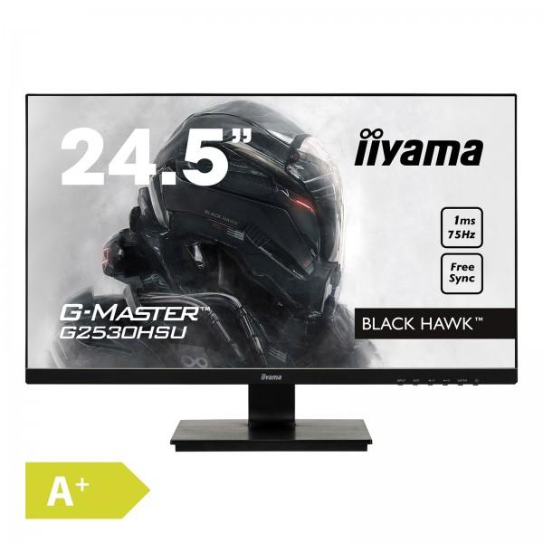 Iiyama G-Master G2530HSU-B1 1920x1080 1ms HDMI DisplayPort Gaming Monitor EEK A+