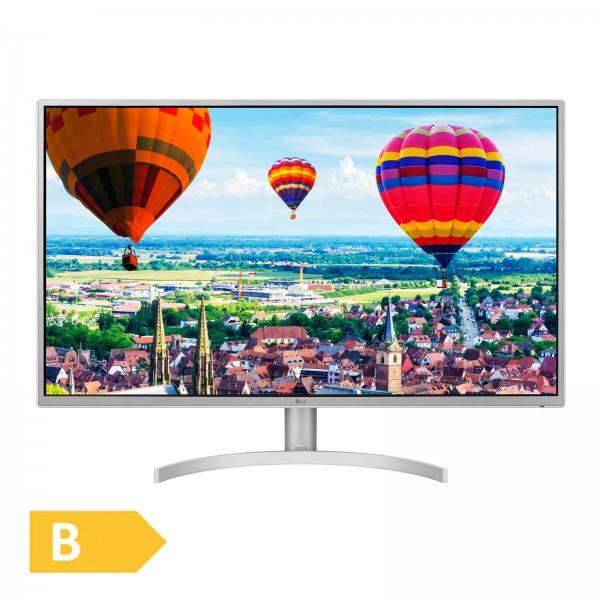 LG 32QK500-W / 2560 x 1440 / 16:9 / 8 ms / 2 x HDMI / Display Port / Free Sync / silber
