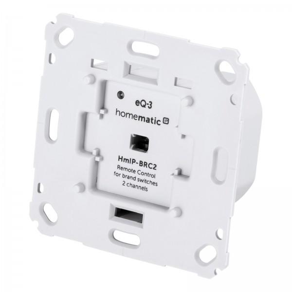 eQ-3 HMIP Wandtaster für Markenschalter 2-fach