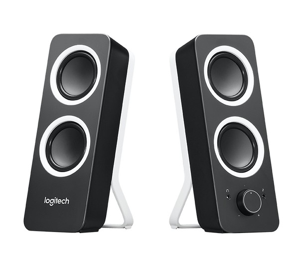 Logitech Z200 Aktivlautsprecher White - Zwei 6.3cm Lautsprecher AUX-Anschluss