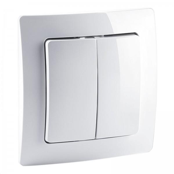 devolo Home Control Funkschalter (Z-Wave Hausautomation, Haussteuerung per iOS/Android App, Smart Ho