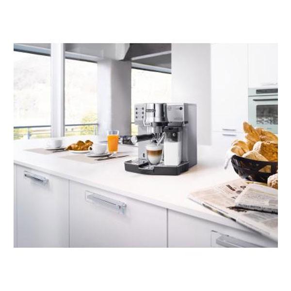 De'Longhi EC 860.M Siebträger-Espressomaschine silber