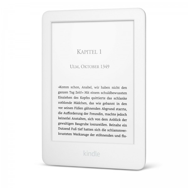 Amazon Kindle WiFi Touch 4 GB (2019) inkl. Beleuchtung, white (B07FPX2YDK) inkl. Spezialangebote (We
