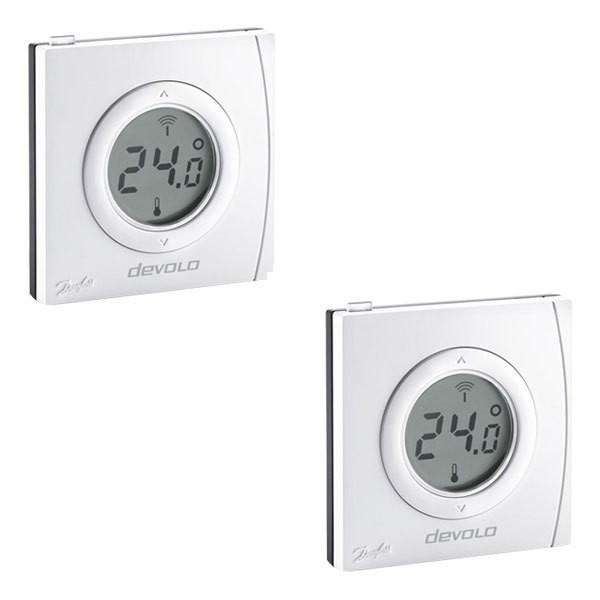 Devolo Home Control Raumthermostat 2er Set