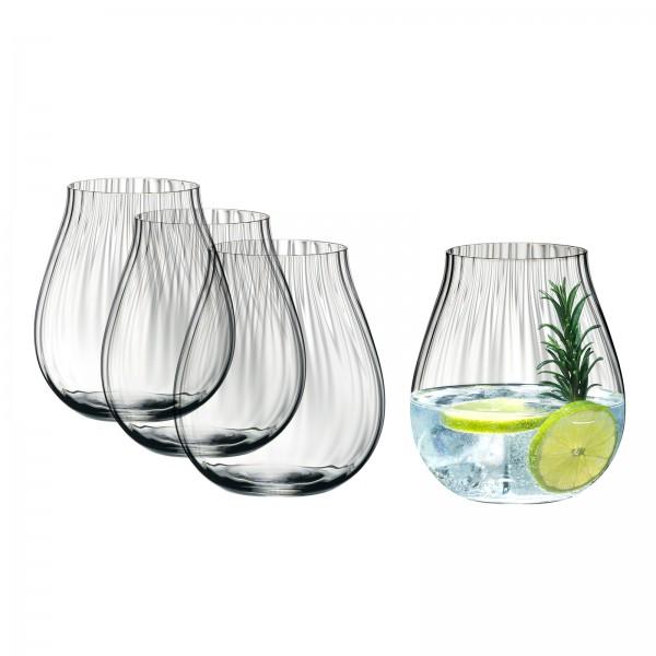 "Riedel Gin Gläser-Set 4-er ""Optical O"" 762ml"