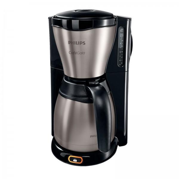 Philips HD 7548/20 Gaia Therm Kaffeemaschine schwarz/ Edelstahl & Kunststoff