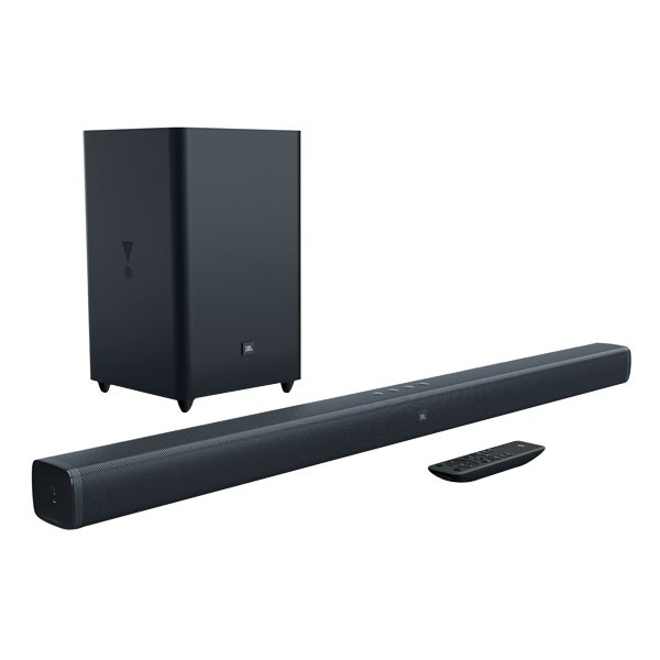 JBL Bar 2.1 Soundbar mit Wireless Subwoofer Bluetooth HDMI In/Out Fernbedienung