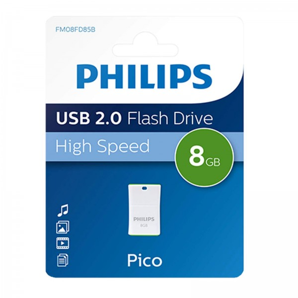Philips USB 2.0 Pico 8GB Green
