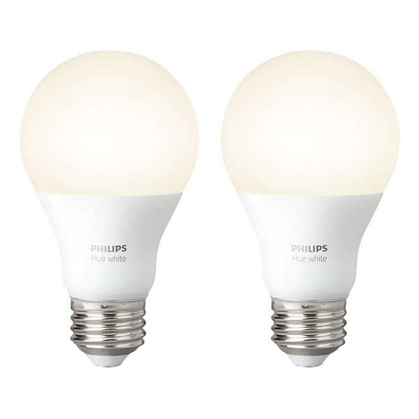 Philips Hue White LED E27 Doppelpack 9,5W Lichtsystem dimmbar EEK: A+