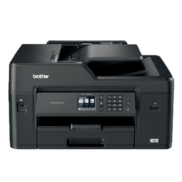 BROTHER MFC-J6530DW 4-in-1 Multifunktionsdrucker WLAN Schwarz USB 2.0 Hi-Speed