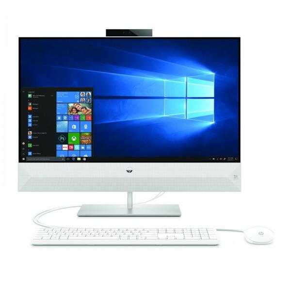 """HP 27-xa0400ng  I5-8400T / 8G / 128GB SSD / 1TB / 27"""" LED FHD Non Touch / GF MX130 2GB / Win10 Plus / White"""