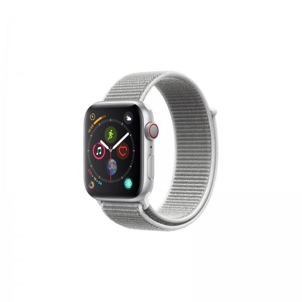 Telekom Apple Watch 4 LTE 44mm Alu Silber, Loop Muschel