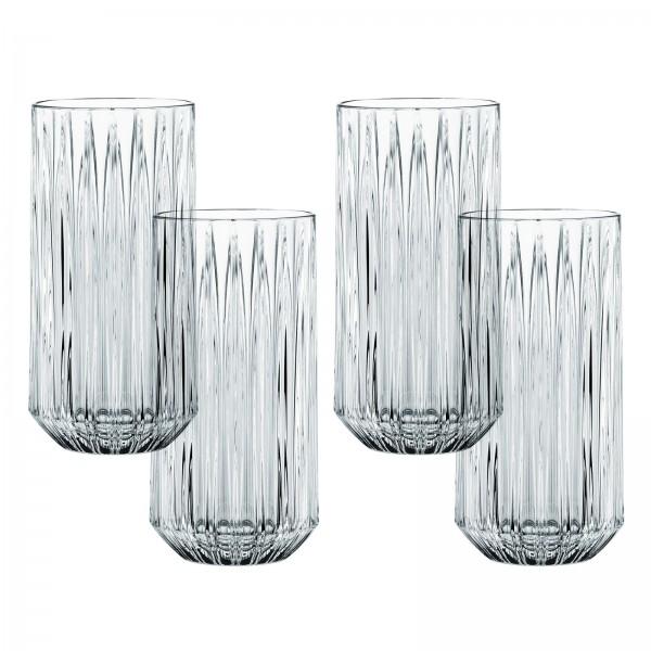 Nachtmann Longdrink-Set, Kristallglas 4tlg