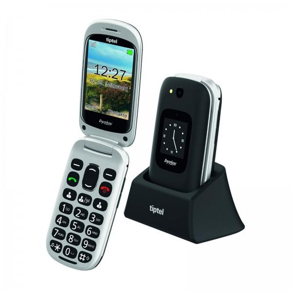 Tiptel Ergophone Handy 6420 schwarz