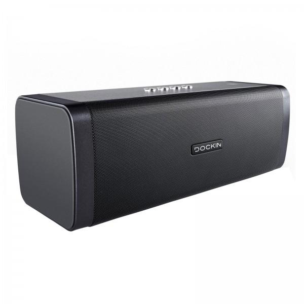 Dockin Bluetooth Lautsprecher D-Fine+ Integ. Powerbank Spritzwasserschutz IP55