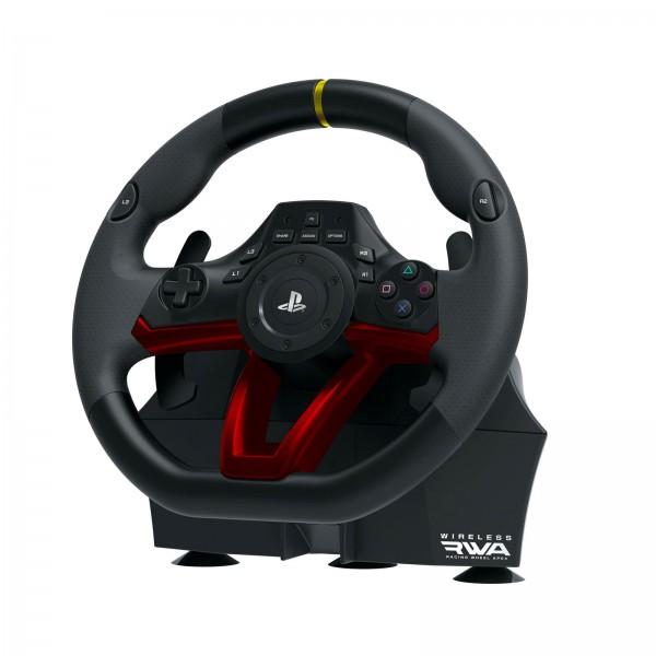 Hori PS4 Wireless Gaming-Lenkrad RWA APEX Bluetooth Kabellos PC LED Racing Wheel
