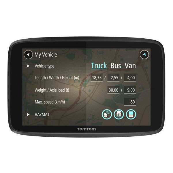 TOMTOM Navigationsgerät GO Professional 6200 EU