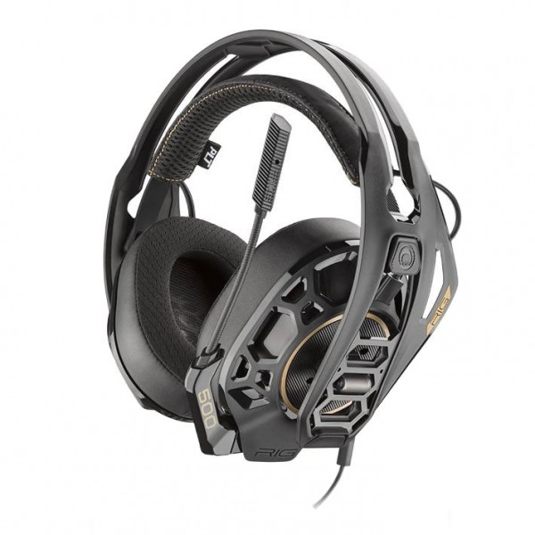 Plantronics RIG 500 PRO HC Gaming-Headset 3D-Sound Inkl. Mikrofon 50-mm-Treiber