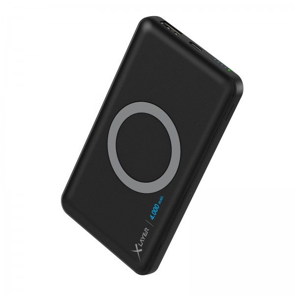 XLayer Powerbank Wireless Charger 4000mAh