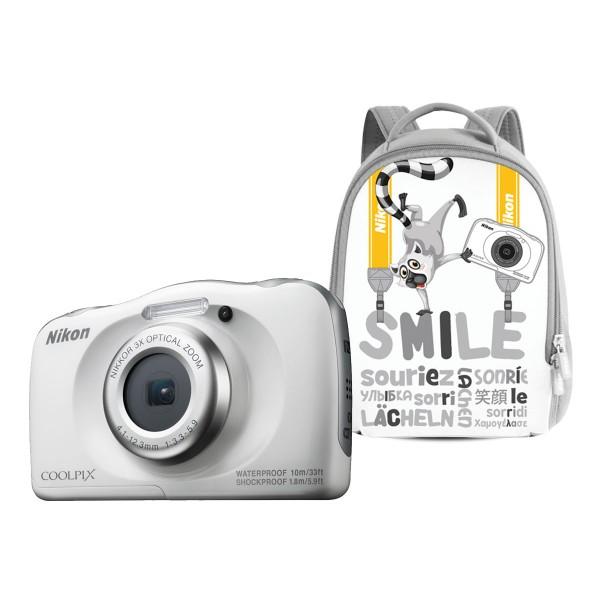 Nikon Coolpix W100 Weiß Rucksack Kit