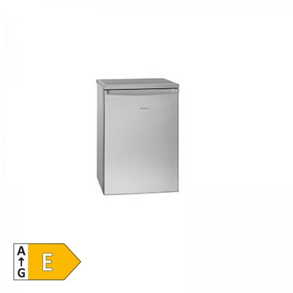 BOMANN KS 2184 Inox-Look Tischkühlschrank 4-Sterne-Gefrierfach