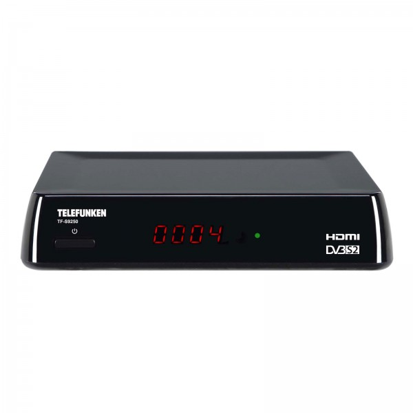 Telefunken TF-S9250 HDTV Sat Receiver