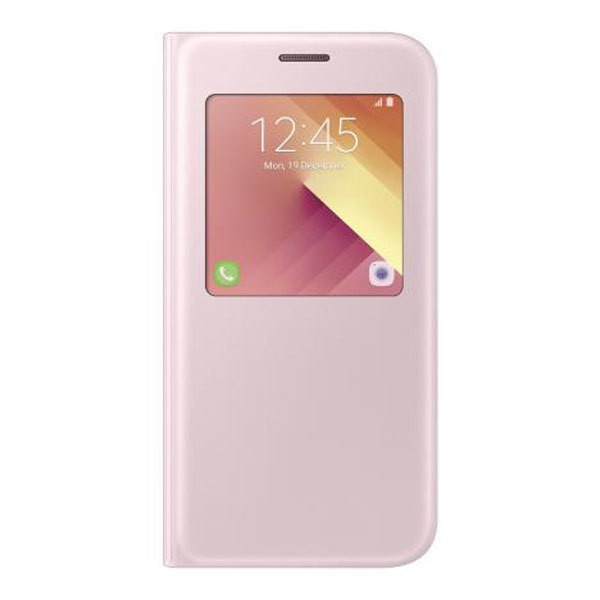 Samsung EF-CA520 S-View Standing Cover für Galaxy A5 (2017) pink