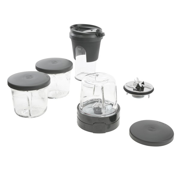 Bosch MUZ45XTM1 TastyMoments 5-in-1 Multi-Zerkleinerer-Set