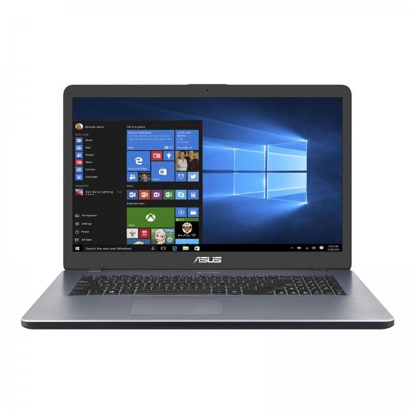 """Asus VivoBook 17  F705UA-BX637T Star Grey / i3-8130U / 8 GB / 128 GB SSD + 1 TB HDD / Intel UHD 620 / 17,3"""" HD+, matt"""