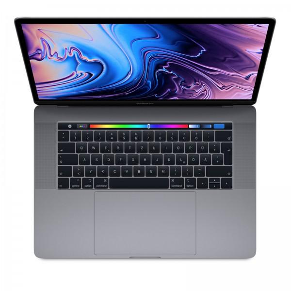 "Apple MacBook Pro (2019) 15"" SpaceGray / TouchBar / CI7(Gen9)-2.6G / 16 GB / 256 GB SSD / Radeon Pro 555X - 4GB / MV902D/A"