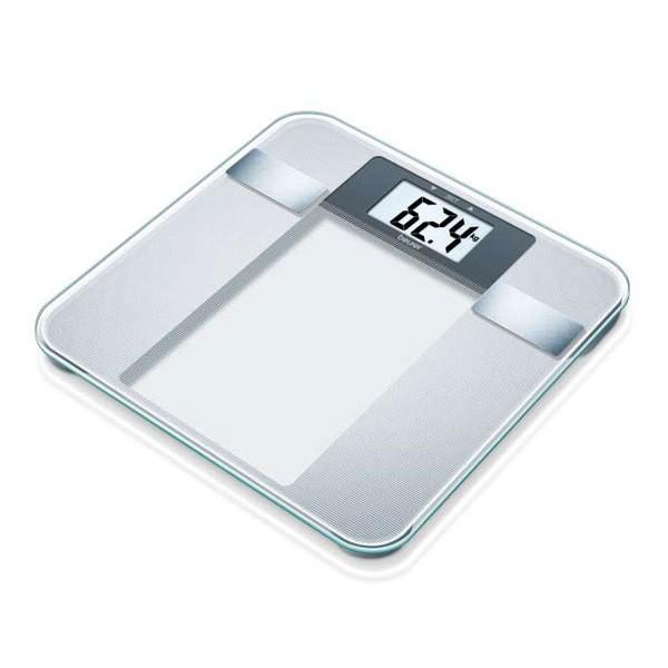 Beurer BG 13 Glas-Diagnosewaage 150kg BMI Abschaltautomatik Sicherheitsglas