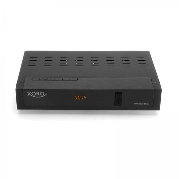 XORO HRK 7672 Twin HD-Kabel-Receiver Aufnahmefunktion, Front-USB, Twin Tuner
