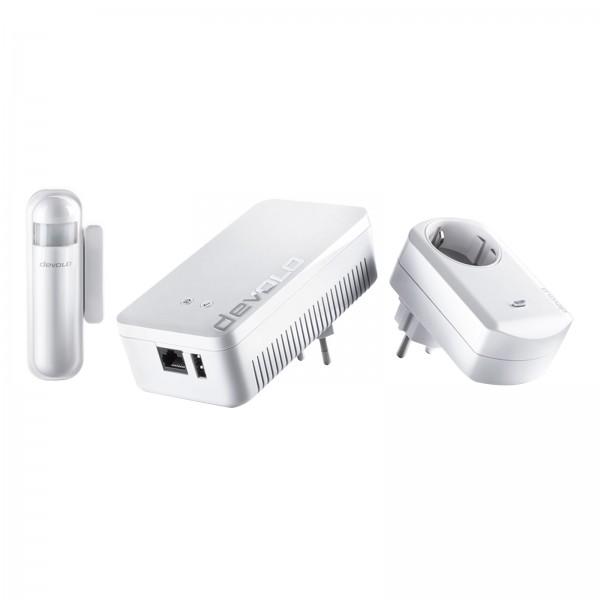 Devolo Home Control Starter Paket (Z-Wave Hausautomation, Haussteuerung per iOS/Android App, einfach