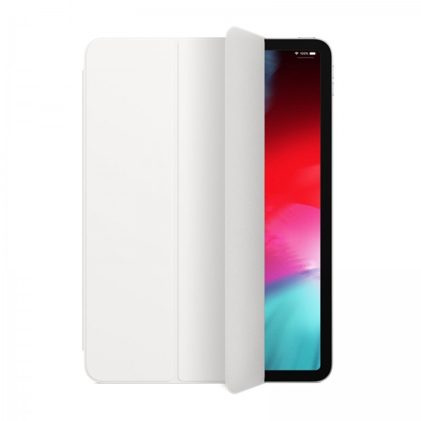 "Apple iPad Pro 12.9"" (2018) Smart Folio (nur ab 3. Generation) Weiss / MRXE2ZM/A"