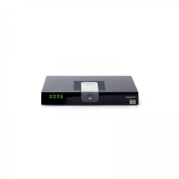 XORO HRT 8724 DVB-T2 Receiver freenet TV Entschlüsselung, Aufnahmefunktion