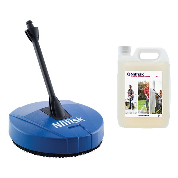 Nilfisk Compact Patio ACC inkl. Wood Cleaner