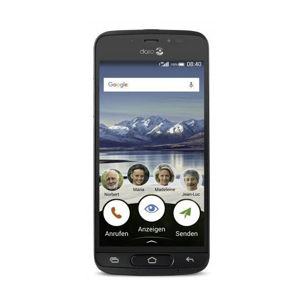 "Doro 8040 12,7cm 5"" Smartphone 16GB 8MP LTE Hörgerätkompatibel 2920mAh"