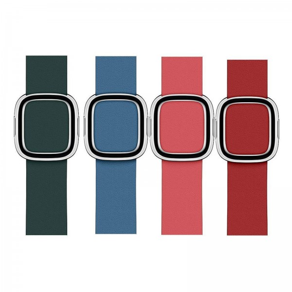 Apple Watch 40mm Buckle Band Forest Green Small
