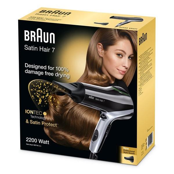 BRAUN 7 HD 710 solo Haartrockner Satin Hair
