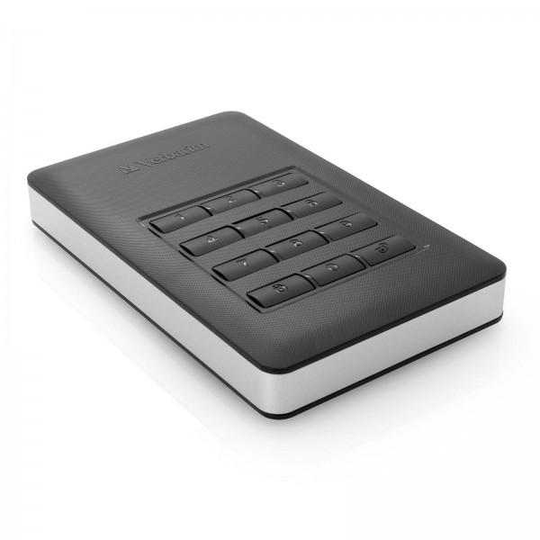 Verbatim Store N Go Secure Keypad HDD 2TB