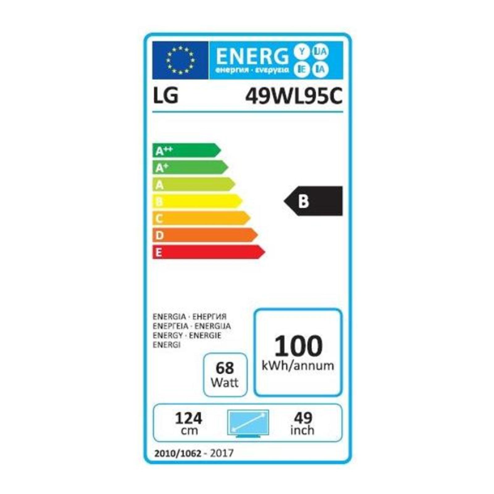 LG 49WL95C-W / Dual QHD 5120x1440 / 32:9 / 5 MS / 2 x HDMI / Didplay Port /  HDR10 / Lautsprecher