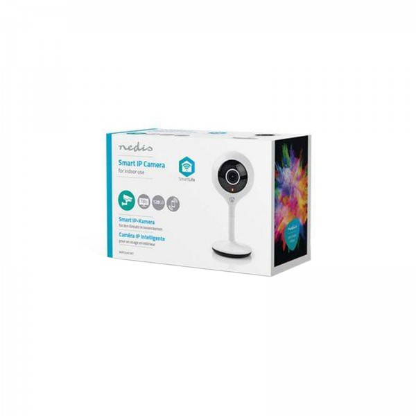 Nedis WIFICI05CWT Kabellose WiFi Smart-IP-Kamera