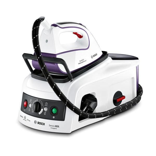 Bosch TDS222510HDampfstation Titanium 6,0bar 350gr. weiß/magic violet