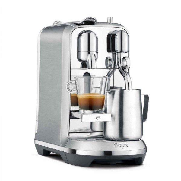 Sage The Creatista Plus Nespresso-Maschine Edelstahl
