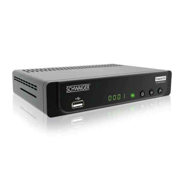 Schwaiger DTR600HD DVB-T2 Freenet TV