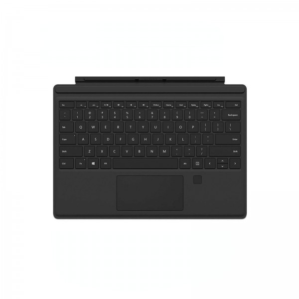 MICROSOFT Surface Pro Type Cover Schwarz mit Fingerprint ID (GK3-00005)