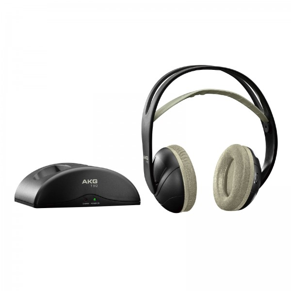 AKG K 912 Funkkopfhörer Akku Sender-Basisstation Wireless Headphones