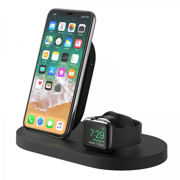 Belkin Wireless Charge Dock weiß