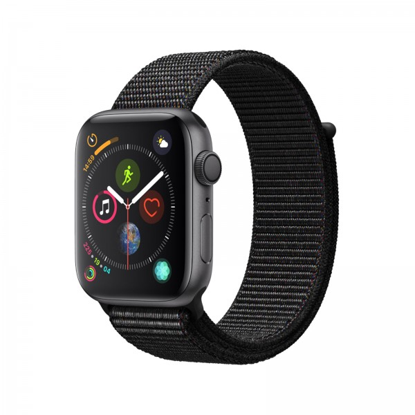Apple Watch Series 4 GPS 44mm Sportloop spacegrau/schwarz