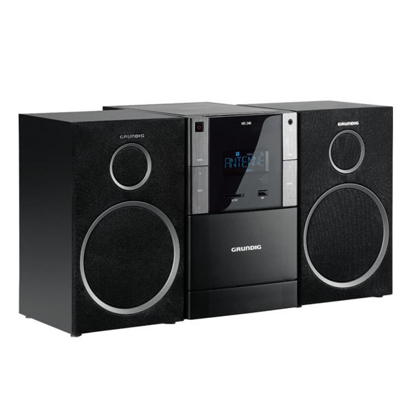 Grundig MS 240 Microsystem MP3 WMA UKW-RDS